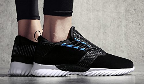 NEWZCERS Breathable beiläufige laufende Veloursleder-Schuhe für Männer c4TvHGds6k