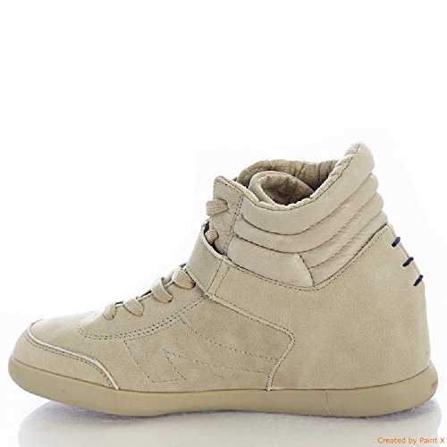 The Peoples Movement MOVMT Jade II Leather Khaki Womens Shoe hOfKW