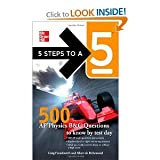 5 Steps to a 5 500 AP Physics Questions to Know by Test Day (5 Steps to a 5 on the Advanced Placement Examinations Series)