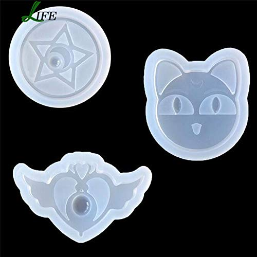 - 1 lot Sailor Moon Stuff Silicone Cake Fondant Mold Cake decorating tools Chocolate Baking Moulds Pegasus Soap Silicone Cake Mold Tool