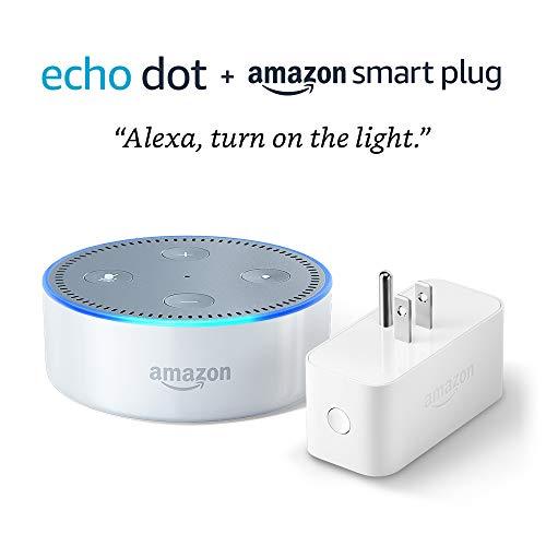 - Echo Dot (2nd Generation) bundle with Amazon Smart Plug - White