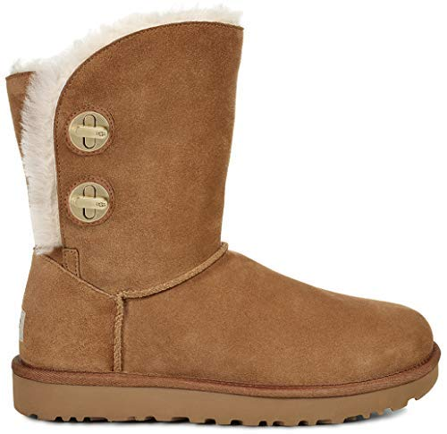 UGG Womens Classic Short Turnlock Boot, Chestnut, Size ()