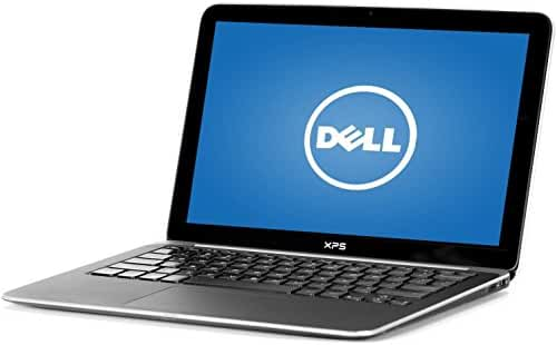 Dell L322X XPS13 Premium Flagship Laptop (13.3 Inch Display 1366x768, Intel Core i5-3437U up to 2.9GHz, 4GB RAM, 128GB SSD, Webcam, WiFi, Windows 8) (Certified Refurbished)