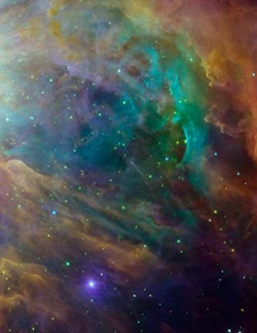 Constellation Orion Nebula Galaxy Notebook: 8.5 X 11 202 College Ruled Pages (Galaxy College Ruled Notebook)