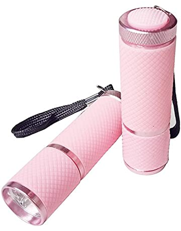 yuye-xthriv Portable Mini 9 LED Nail Dryer UV Gel Nail Polish Curing Lamp Flashlight