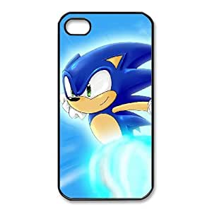iPhone 4 4s Cell Phone Case Black Sonic the Hedgehog Popular Games image KOL1360224