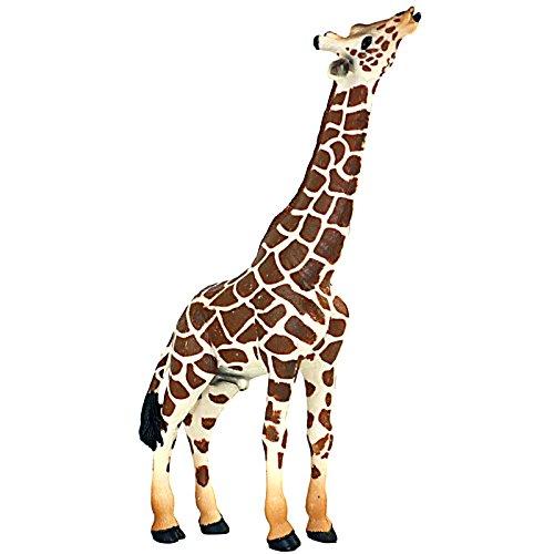 Funshowcase African Jungle Animals Male Giraffe Bull Toy Figure Realistic Plastic Figurine Height - Mali Giraffe