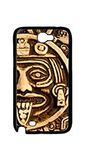 TUTU158600 Hard Back Shell Case Cover phone case for samsung galaxy note2 - Aztec statue