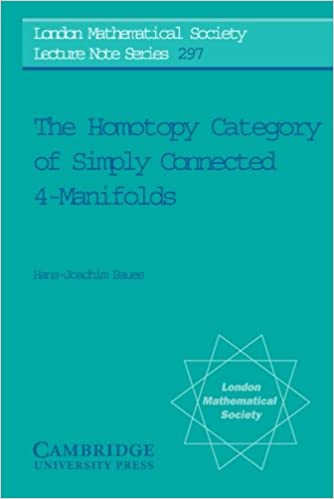 the homotopy category of simply connected 4 manifolds baues hans joachim pirashvili teimuraz