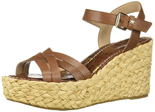 (Sam Edelman Women's Darline Heeled Sandal, Latte Leather, 5.5 M US)