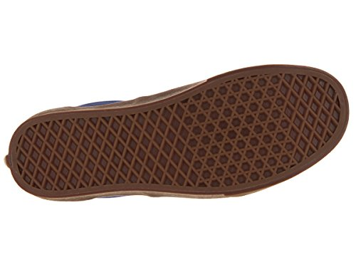 Bestelwagens Unisex-tijdperk (canvas) Skate Schoen Blauwdruk / Kauwgom