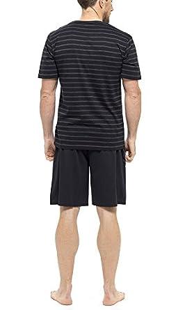 Tom Franks Men/'s Striped Cotton Short Pyjama Sleepwear Nightwear Set HT331