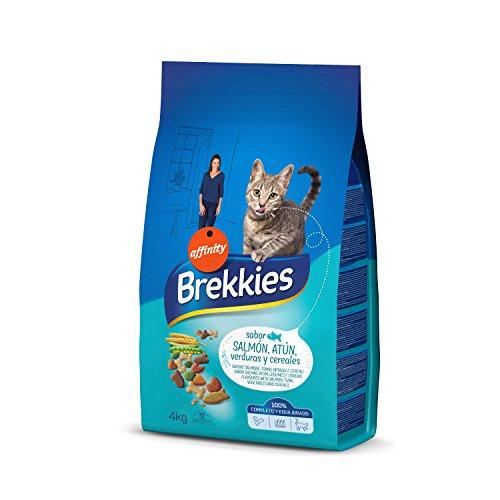 Brekkies Pienso para Gatos con Salmón Atún y Verdura – 4000 gr