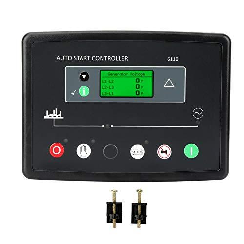 Wandisy DSE6110 Electronics Generator Control Module Controller Auto Start Module Panel for Diesel Generator