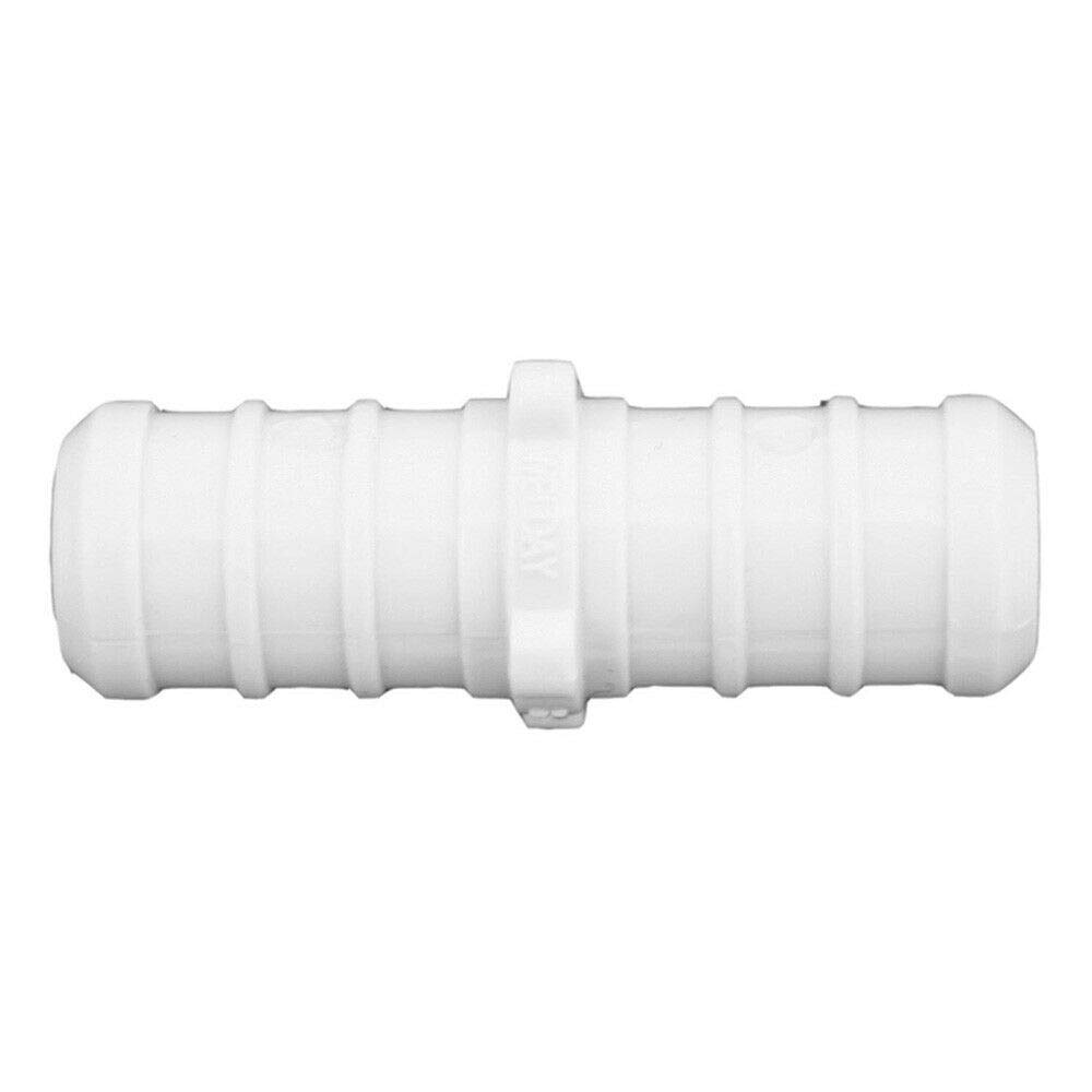 JonesStephens New 1//2 Plastic PEX White Coupling Lead Free,PartNo C76704