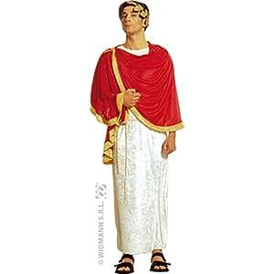 Widmann wdm4899m–Disfraz para adultos Marcus Aurelius, blanco, XXL