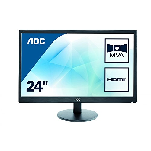 AOC M2470SWH 24-Inch LCD/LED Monitor - Black