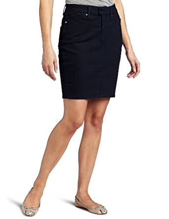 Levi's Women's Tailor Pencil Skirt, Indigo Ink,10