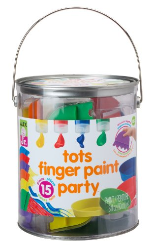 ALEX Jr. Tots Finger Paint Party