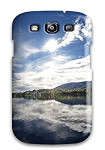 Snap-on Case Designed For Galaxy S3- Mirror Lake
