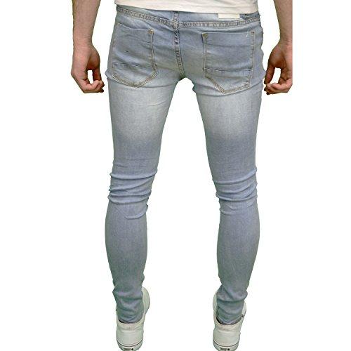 Skinny Hombre Fit Soul elástico para de Ripped Funda Jeans Super Star qTA840