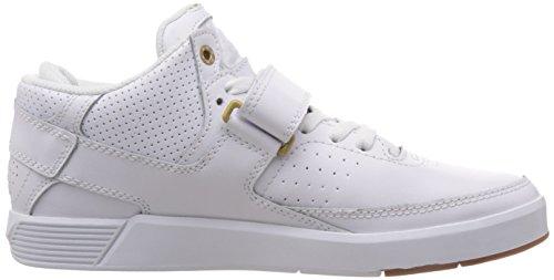 DC Rd X Mid Se M Shoe Hwg - Zapatillas de deporte Hombre multicolor - Mehrfarbig (White/White/Gum- Hwg)