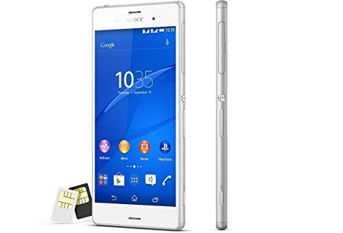 Sony Xperia Z3 D6633 Factory Unlocked, International Version, 16GB, White