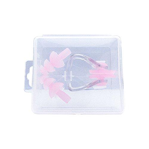 Natation Soft Silicone étanche Set Soft Nose Clip + Ear Plug Plug oreille Outil