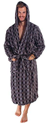 Bathrobe Simplicity Luxurious Fleece Hooded
