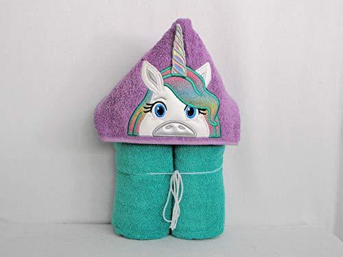 er and Seafoam Unicorn Hooded Bath Towel - Baby, Child, Tween ()