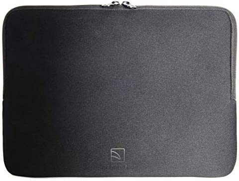 Tucano Colore Second Skin Sleeve For 13 Inch 14 Inch Notebooks Black Computers Accessories