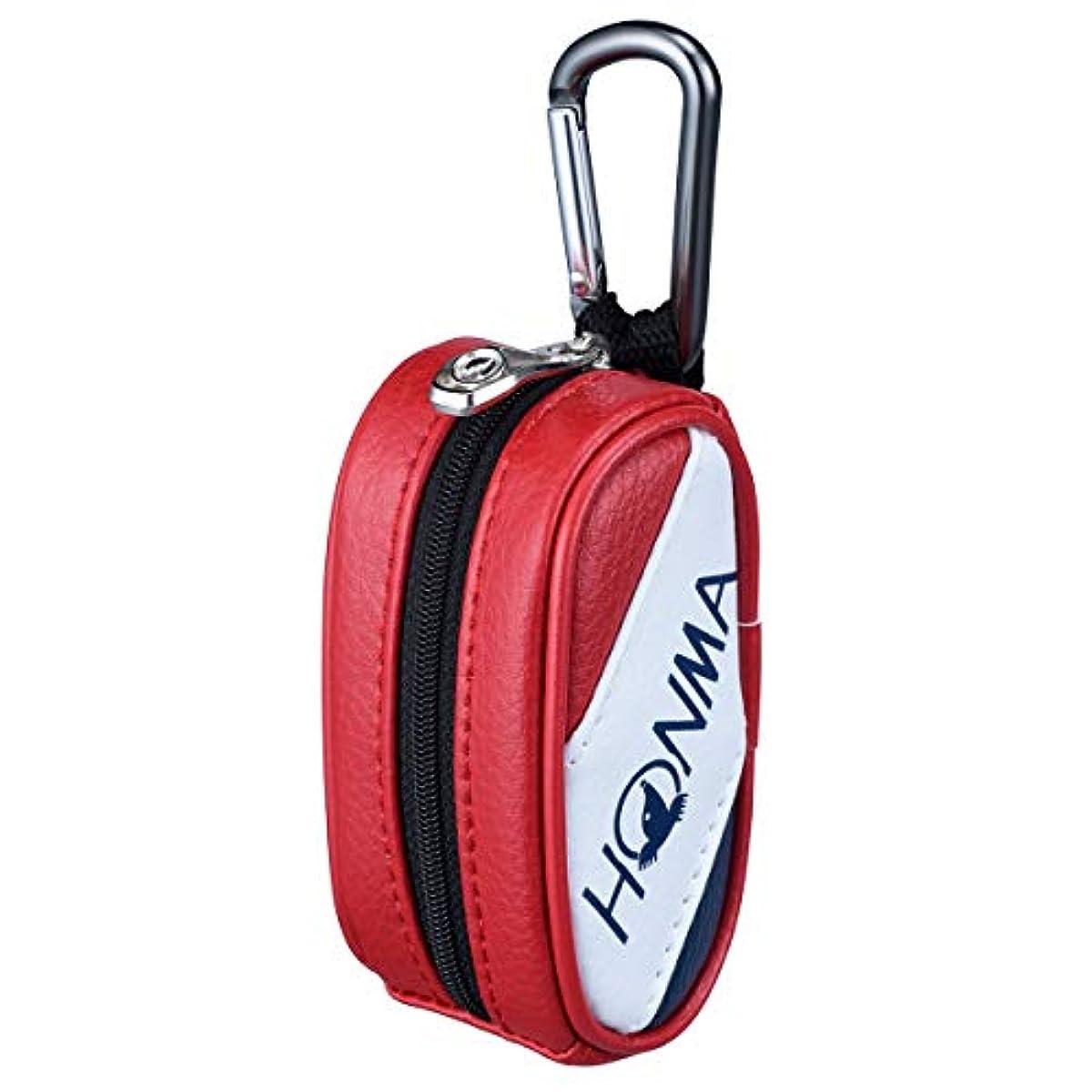 [해외] 혼마 골프 HONMA 볼2 개수납 토너먼트 프로모 델 볼 케이스 W5×H10.5×D5CM BC-12001