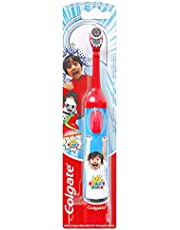 Colgate Kids Battery Powered Toothbrush, Ryan's World, 1 Count (Colours Vary)