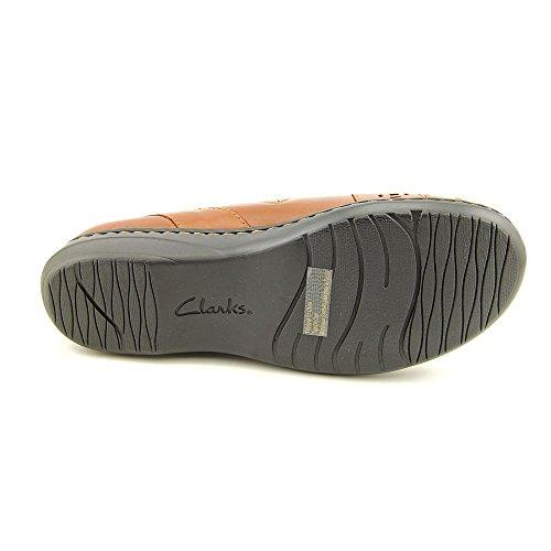 Clarks Evianna figura Ponte en los zapatos Tan