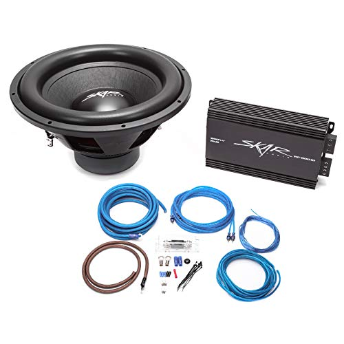 15 inch subwoofer amp package - 9