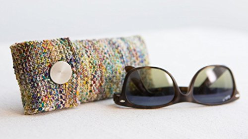 Knit a Linen Stitch Glasses (Knitted Glass)