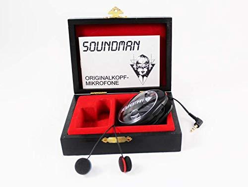 OKM II Classic Solo: Binaurale (Kunstkopf-) Mikrofone, die im Ohr getragen werden, fü r live-recording, field-recording und ASMR-recording. Soundman