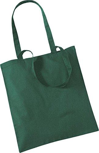 Westford Mill Shopper Handtasche Aufbewahrung Reisetasche Promo Schulter Tasche One Size Grün - Bottle Green