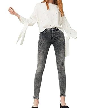 Mango Women's Kim Skinny Push-Up Jeans