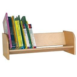 Wood Designs WD13900 Book Display Rack, 8 x 24 x 10\