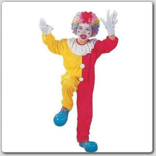 RG Costumes Circus Clown, Child Medium/Size 8-10