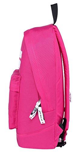 Lavanda un D224m 15 ALWAYSBEENME Letras Bordadas Pulgadas Cabe 524s Color Mochila con Oscuro Rosa portátil DE 6 qO47Y7