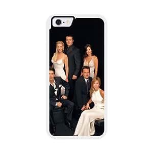 Friends E4T1VR8S Caso funda iPhone 6 4.7 pulgadas del teléfono celular blanco
