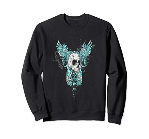 Flying Skull T shirt