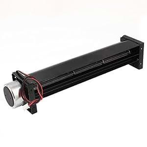 DC 12V 0.2A de flujo cruzado ventilador de refrigeración del cambiador de calor del amplificador fresco de Turbo