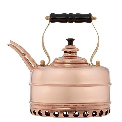 ingham Solid Copper No. 1 Copper Finish 1.9 Quart Teakettle ()