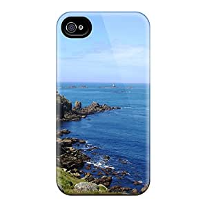 Hot Ls End Cornwall First Grade Tpu Phone Case For Iphone 4/4s Case Cover