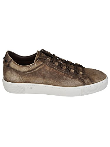 Tod's Sneakers Uomo XXM56A0V430RDIS818 Pelle Marrone