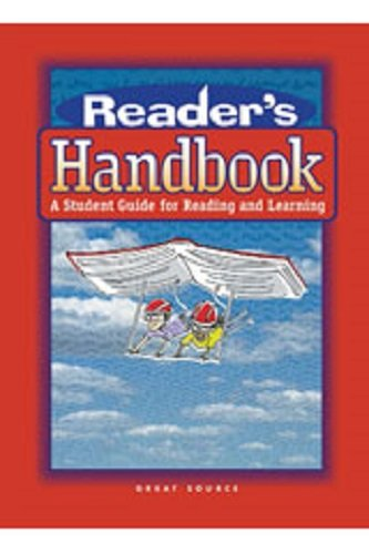 Reader's Handbook: Grades 6,7,8 Teacher's Guide (Great Source Reader's Handbooks)