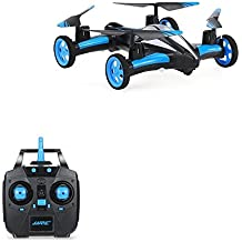 KingPow Flying Rc Cars RC Quadcopter Cars RC Quadcopter Remote Control Drone Flying Vehicles